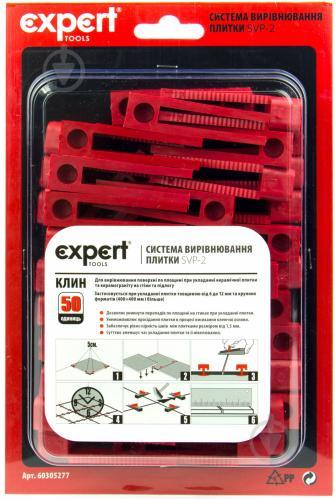 Система вирівнювання плитки EXPERT tools клин  60305277 - фото 3