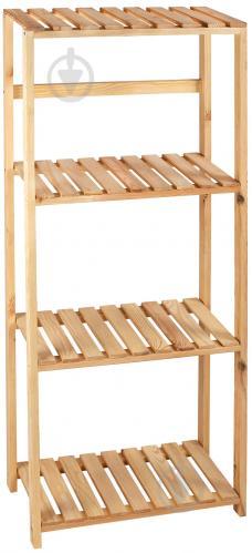 Стеллаж деревянный PROзапас 1500x600x300 мм сосна - фото 1
