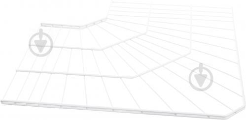 Полка угловая Kolchuga 600x406 мм белый - фото 1