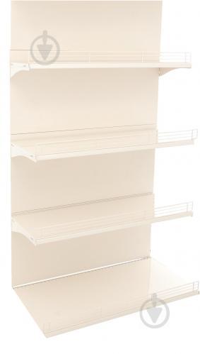 Стелаж пристінний КМ полиці та стінки упаковка № 2 - фото 1