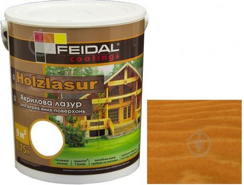 Feidal Holzlasur орегон шелковистый глянец 0,75 л - фото 1