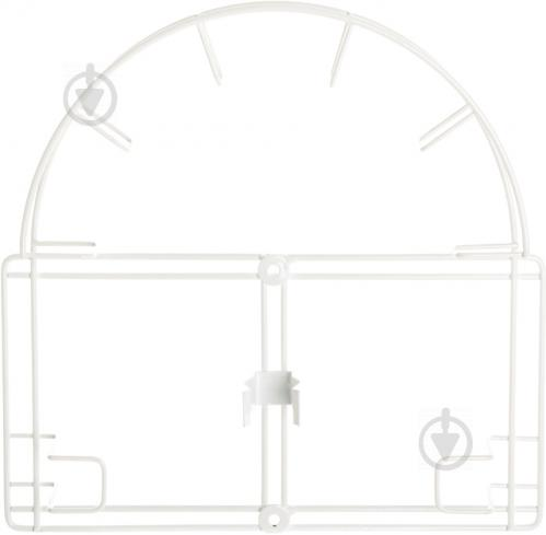 Вешалка для пылесоса Kolchuga 315x315x60 мм белый - фото 1