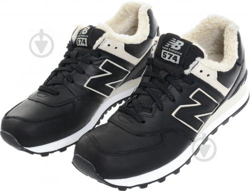 Ботинки New Balance 574 ML574BL р. 10,5 черный - фото 2