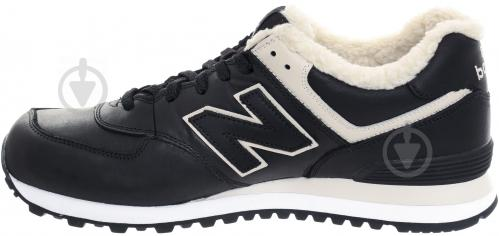 Ботинки New Balance 574 ML574BL р. 10,5 черный - фото 17