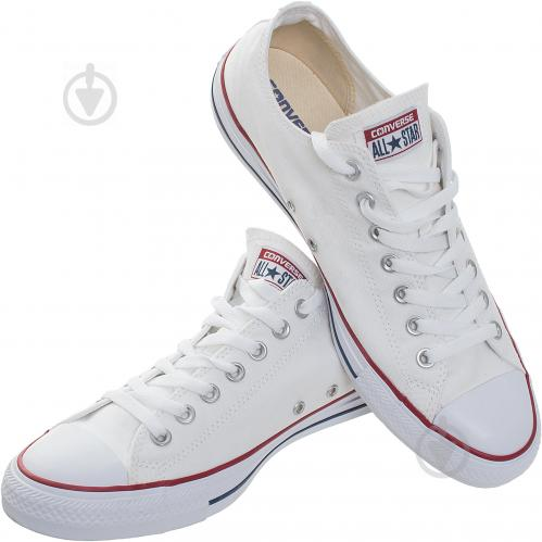 Кеды Converse Chuck Taylor Classic OX M7652C р. 9,0 белый