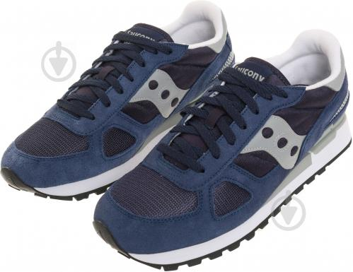 Кроссовки Saucony L SHADOW ORIGINAL р.8.5 синий 2108-523 - фото 2