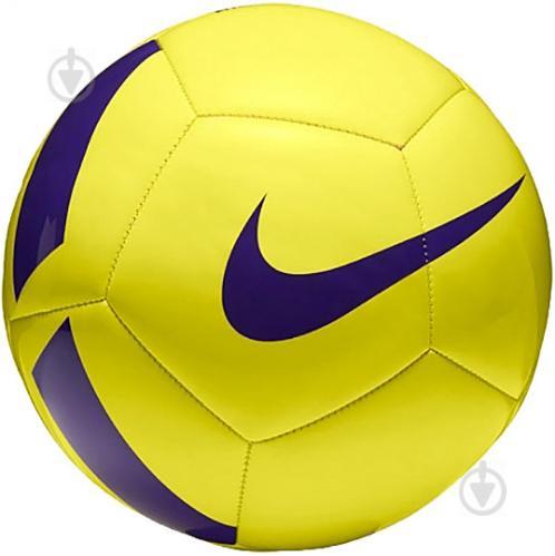 ᐉ Футбольный мяч Nike Pitch Team р. 4 SC3166-701 • Купить в Киеве ... e1e9b2172056a