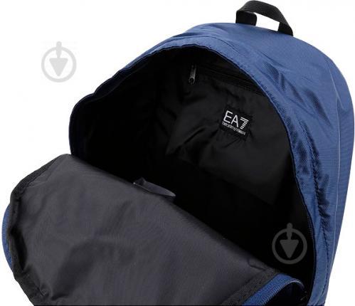 Рюкзак EA7 275659-CC731-02836 синий - фото 7