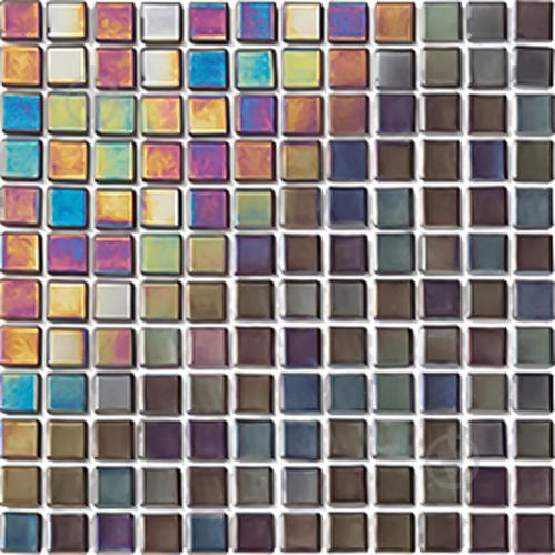Плитка ALTTOGLASS SA Мозаика Platino Black (blist) 31,6x31,6 - фото 1