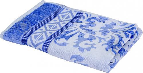 Полотенце Ornament 76-167-195 70x140 см голубой Lorenzzo - фото 1