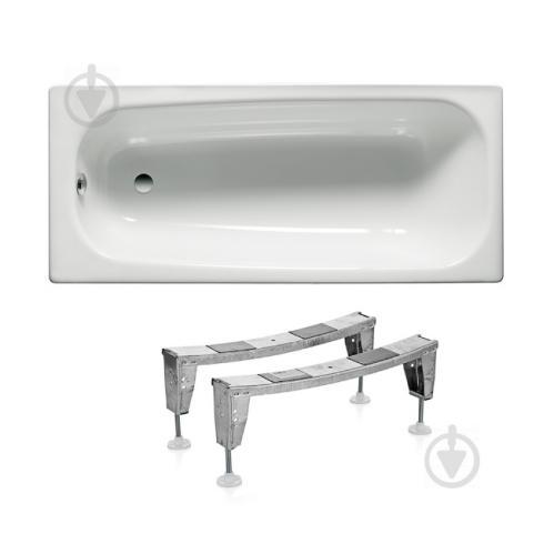 Ванна стальная ROCA Contesa 150x70 c ножками - фото 1