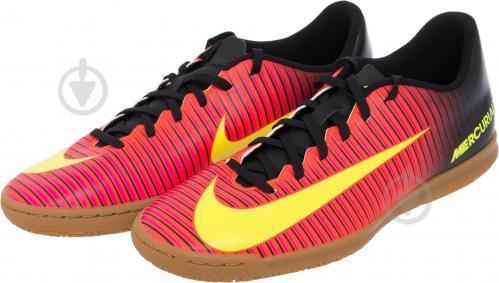 Футбольные бутсы Nike MERCURIAL VORTEX III 831970-870 р. 7.5 оранжевый - фото 2