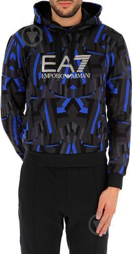 Джемпер EA7 р. XL голубой