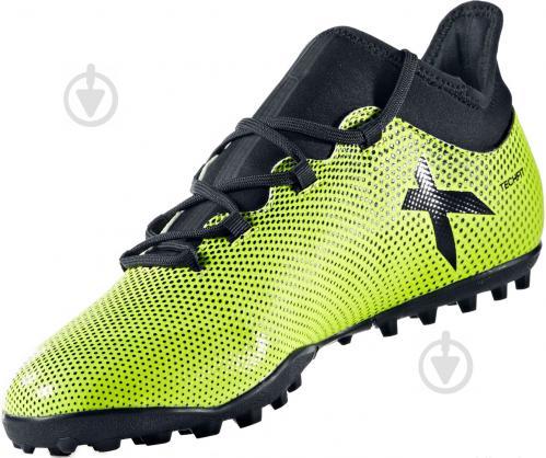 Футбольные бутсы Adidas X Tango TF CG3727 р. 9 зелено-черный