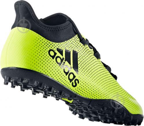 Футбольные бутсы Adidas X Tango TF CG3727 р. 9 зелено-черный - фото 2