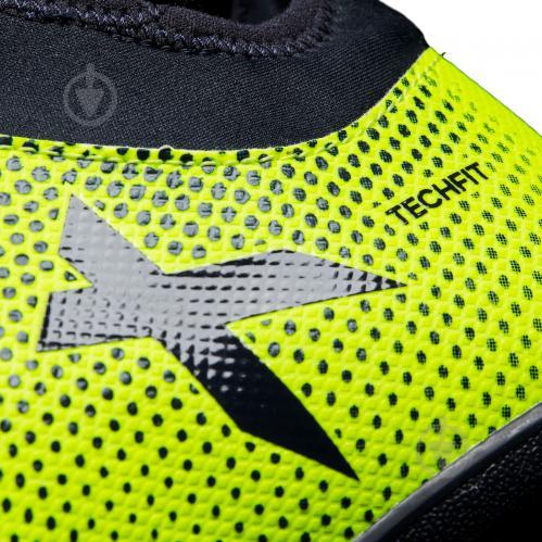 Футбольные бутсы Adidas X Tango TF CG3727 р. 9 зелено-черный - фото 5