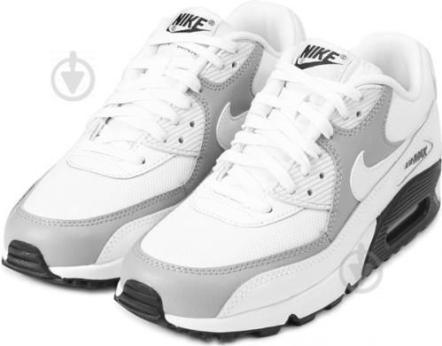 6ae6dec5d36565 ᐉ Кросівки Nike Air Max 90 325213-126 р.6,5 білий • Краща ціна в ...