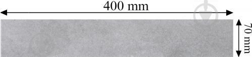 Плитка Декостайл Area Cement сірий плінтус 322830 7x40 - фото 4
