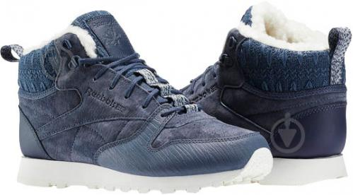Кроссовки Reebok Classic Leather Arctic Boot BS6275 р.37,5 синий - фото 3