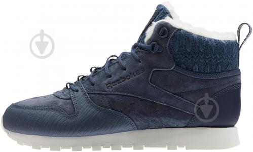Кроссовки Reebok Classic Leather Arctic Boot BS6275 р.37,5 синий