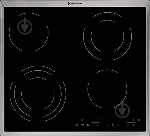 Варильна поверхня Electrolux CPE6433KX - фото 1