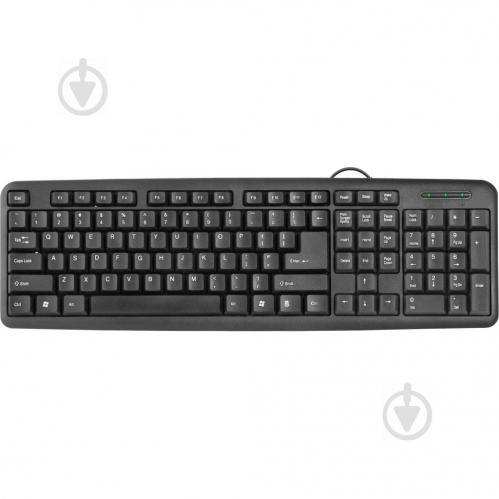 Клавіатура Defender HB-420 (45420) black - фото 1