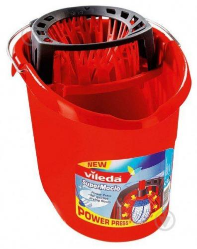 Ведро с отжимом Vileda Ведро с отжимом Super Mocio, 10 л 37 см - фото 1