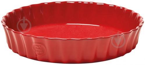 Форма для пирога Ovenware 28 см красная 346028 Emile Henry - фото 4