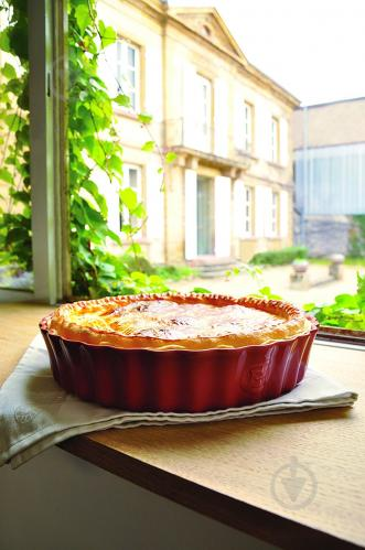 Форма для пирога Ovenware 28 см красная 346028 Emile Henry - фото 6