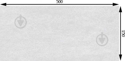 Плитка InterCerama METALICO серая светлая 89 071 23x50 - фото 2