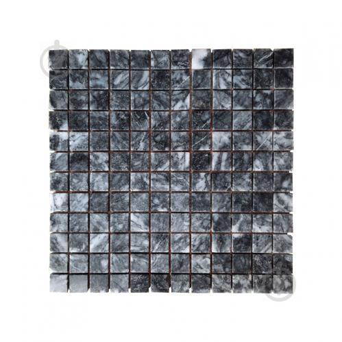 Плитка KrimArt Мозаiка Полiр. МКР-2П (23х23) Black 305*305*6 мм - фото 1