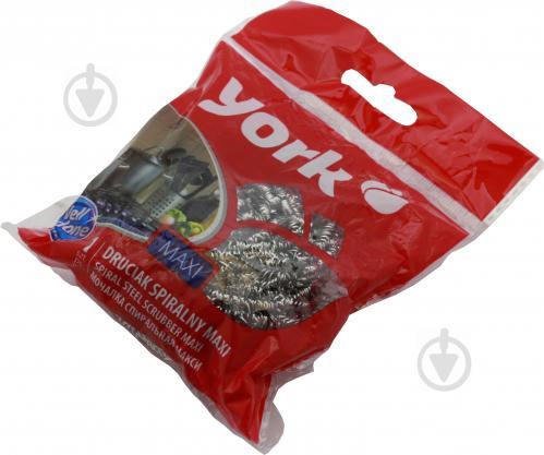 Шкребок York спирально-металевий MAXI 1 шт. - фото 1