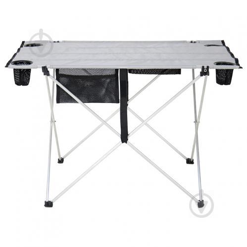 Стол раскладной Vitan Чудо 55x75 см серый - фото 1