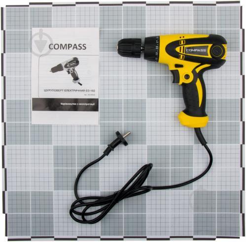 Шуруповерт мережевий Compass ED-102 20125048 - фото 3