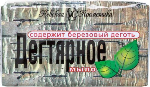 Мыло Невская Косметика Дегтярное 140 г - фото 1