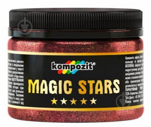Глиттер Kompozit MAGIC STARS 60 г рубин - фото 1