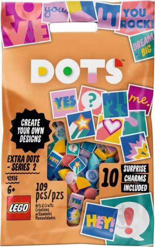 Конструктор LEGO Dots Додаткові елементи DOTS – випуск 2 41916 - фото 1
