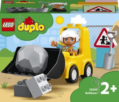 Конструктор LEGO DUPLO Бульдозер 10930 - фото 1