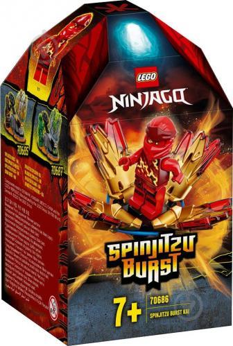 Конструктор LEGO Ninjago Турбо спін-джитсу – Кай 70686 - фото 1