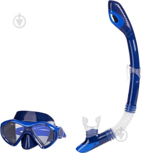 Набор для дайвинга TECNOPRO ST8 289408-522 р.L синий - фото 1