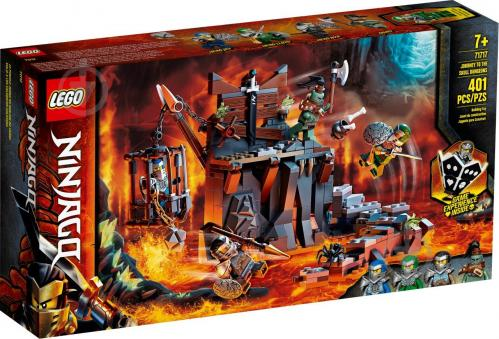 Конструктор LEGO Ninjago Путешествие в Подземелье черепа 71717 - фото 1