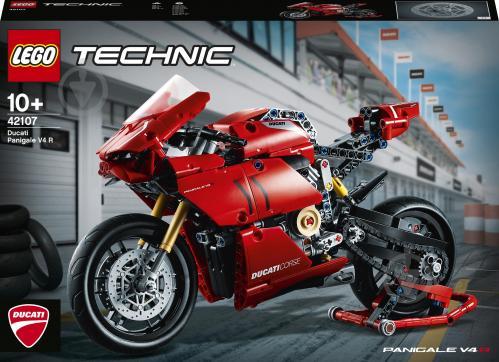 Конструктор LEGO Technic Ducati Panigale V4 R 42107 - фото 1