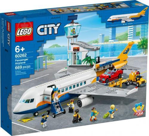 Конструктор LEGO City Пассажирский самолет 60262 - фото 1