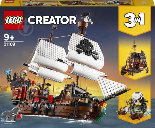 Конструктор LEGO Creator Пиратский корабль 31109 - фото 1