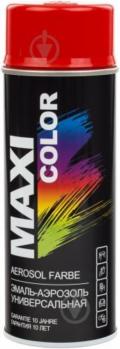 Эмаль аэрозольная RAL 3020 Maxi Color красный 400 мл