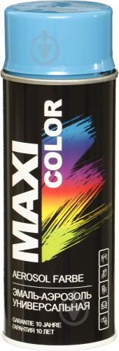 Эмаль Maxi Color аэрозольная RAL 5015 небесно-синий глянец 400 мл