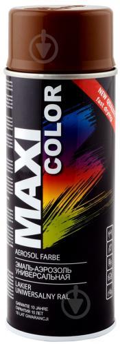 Эмаль аэрозольная RAL 8011 Maxi Color коричневий 400 мл
