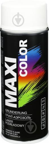 Грунт аэрозольный Maxi Color белый 400 мл