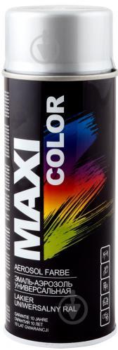 Эмаль аэрозольная Maxi Color серебряный 400 мл - фото 1