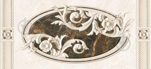 Плитка InterCerama FENIX декор сірий Д 93 071-1 23x50 - фото 1